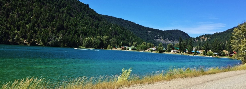 Boating Allison Lake