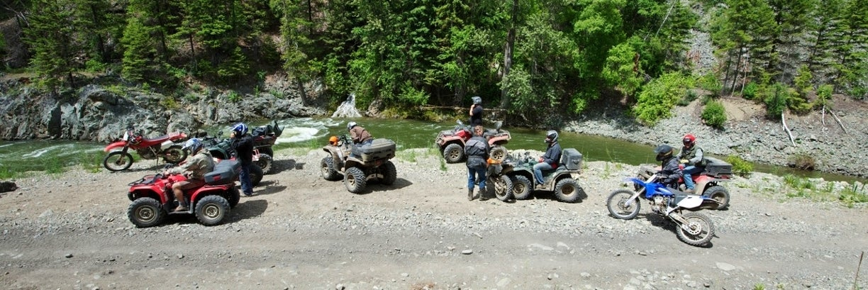 ATVing Trans Canada Trail