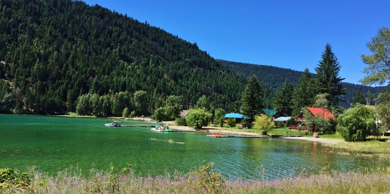 Water Front Properties at Allison Lake