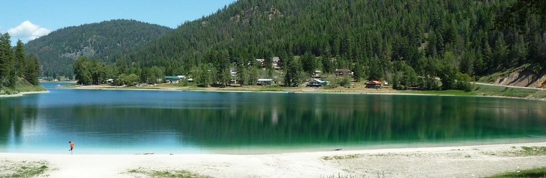 The beauty of Allison Lake