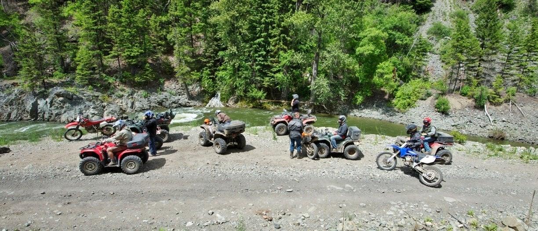 ATVing in Princeton BC
