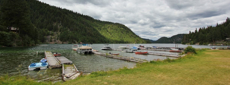 Public Boat Docks at Missezula Lake