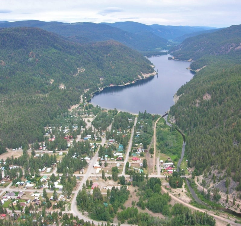 Aerial of Otter Lake