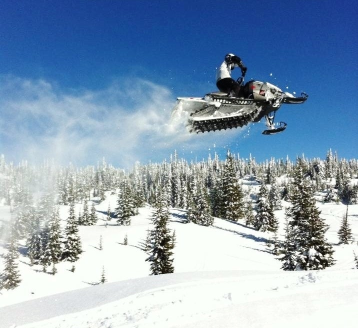 Snowmobiling Whipsaw