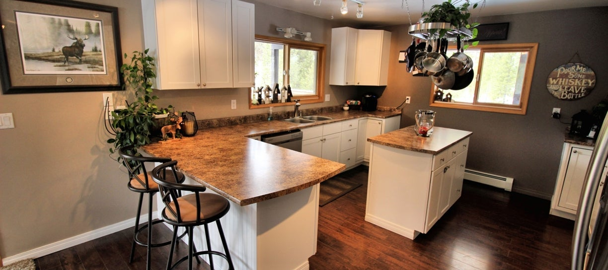Staged and beautiful kitchen at 1751 Old Hedley Road