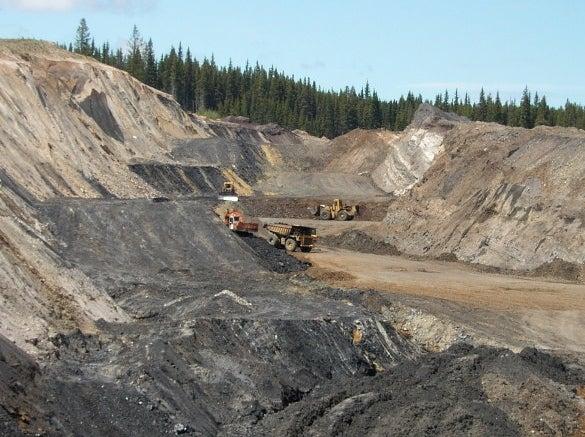 Blake Burn Coal Mine