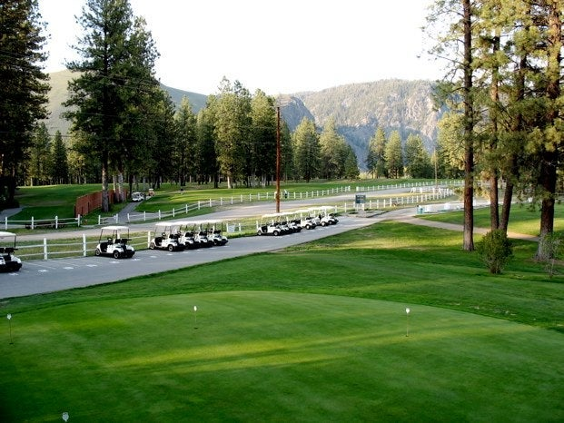 Golf cart rentals in Princeton BC