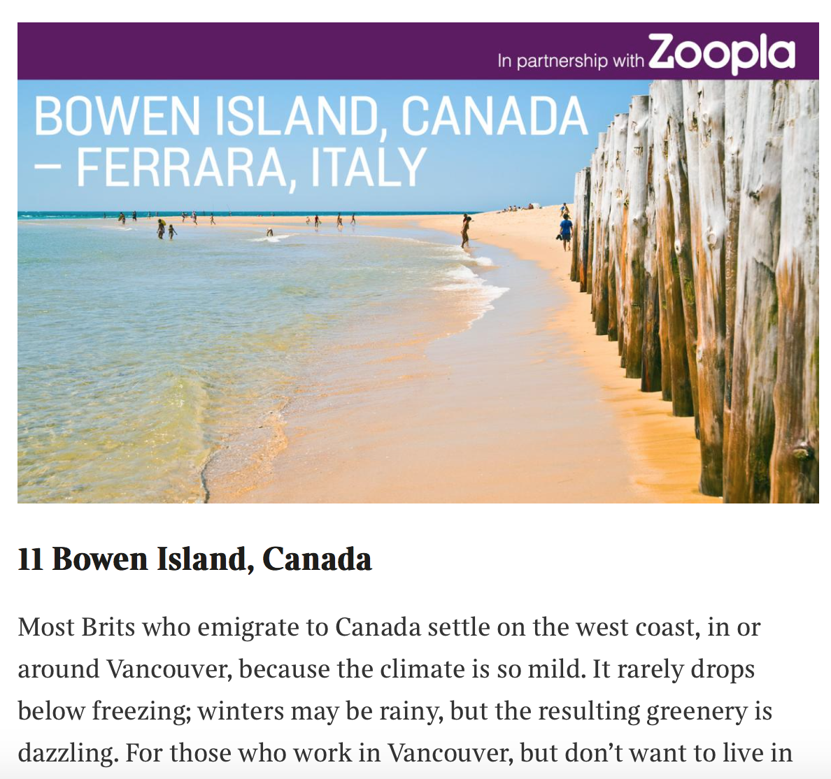 Tourism Bowen