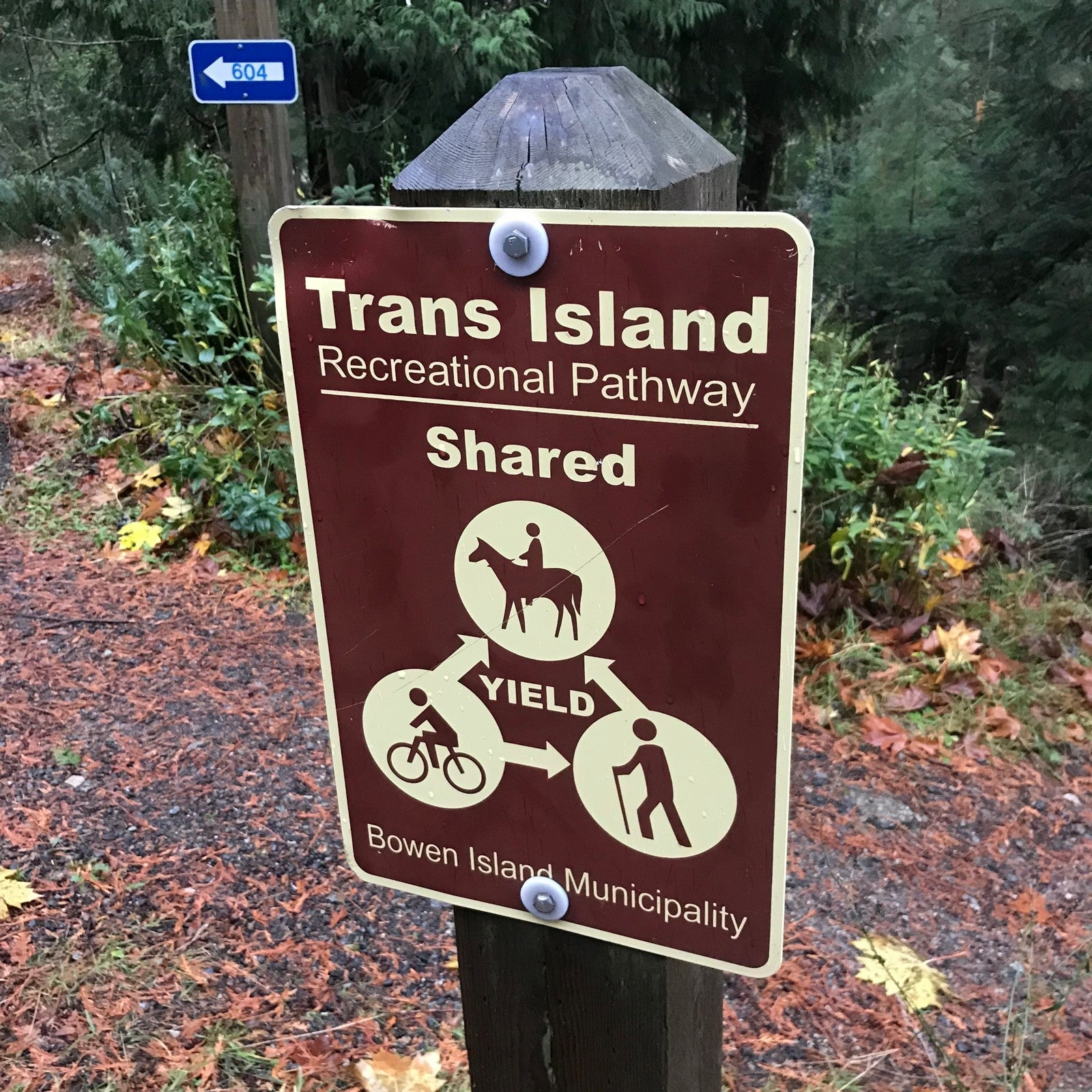 Bowen Island trail network