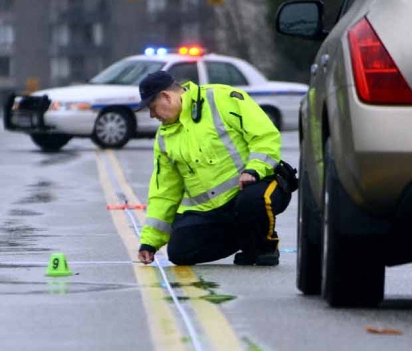 A pedestrian accident that would qualify for ICBC part 7 benefits.