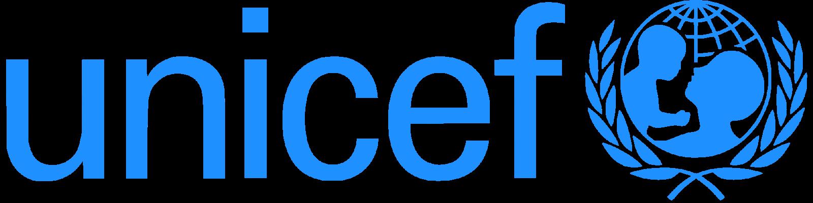 UNICEF logo.