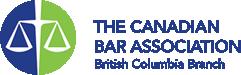 The Canadian Bar Association logo.