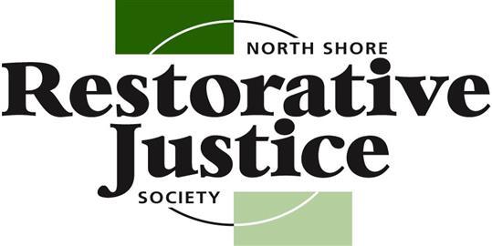 North Shore Restorative Justice Society Logo.