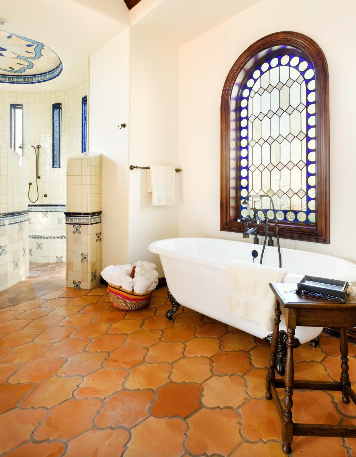 Terracotta tiles Photo: JAUREGUI Architecture Interiors