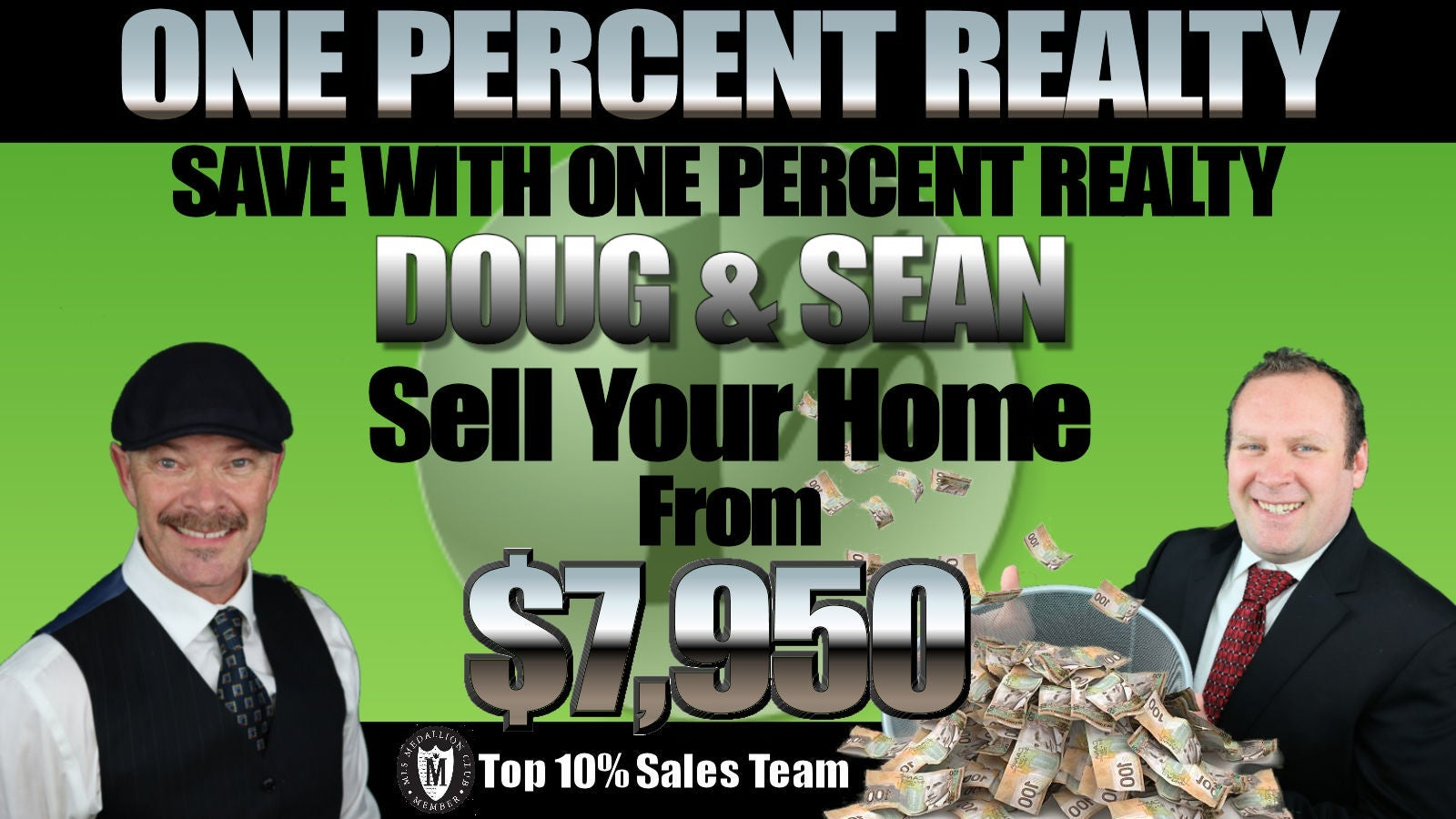 Flat Fee MLS Listing Providers One Percent Realty & The Property Finders