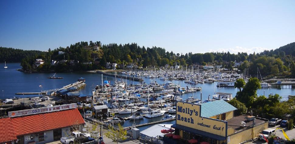Town of Gibsons on the Sunshine Coast