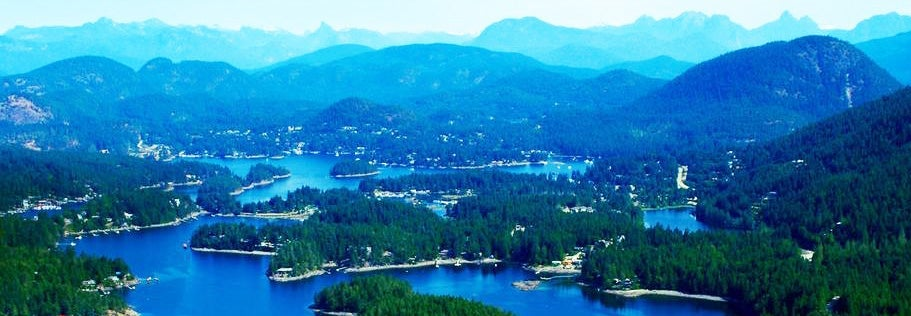 Pender Harbour - the Venice of the North on the Sunshine Coast