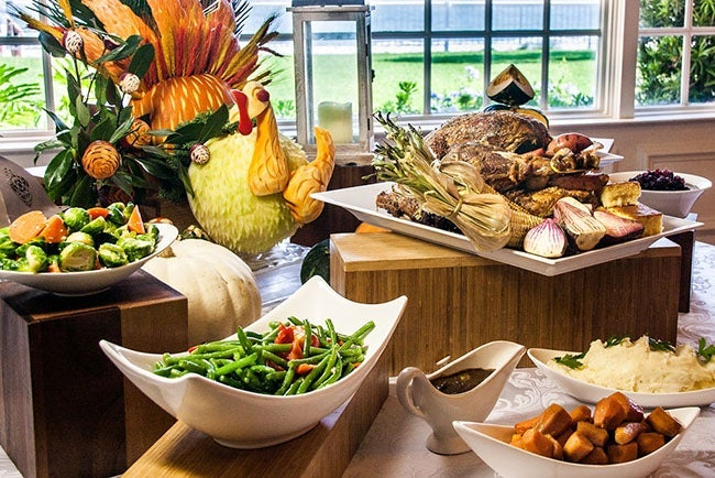 All you can eat thanksgiving buffet at Grand Villa Casino, Burnaby