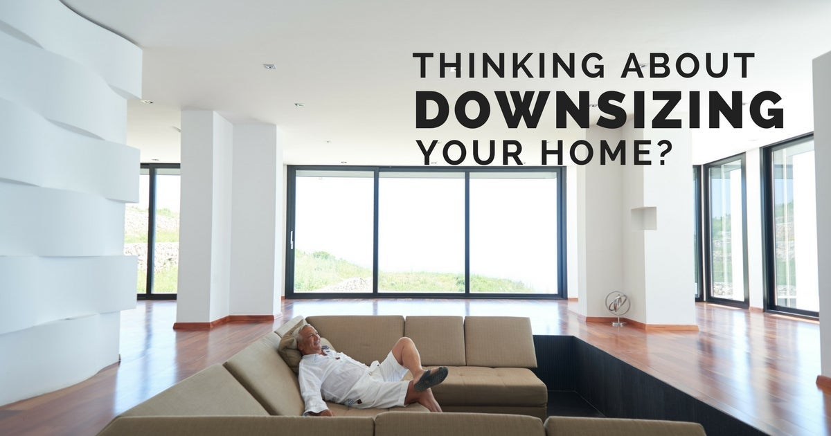 Tips for downsizing your family home