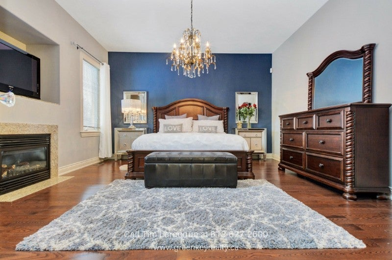 Real Estate Properties for Sale in Gloucester ON - Sleep your worries and stress away in the stunning master bedroom of this home for sale in Gloucester ON.