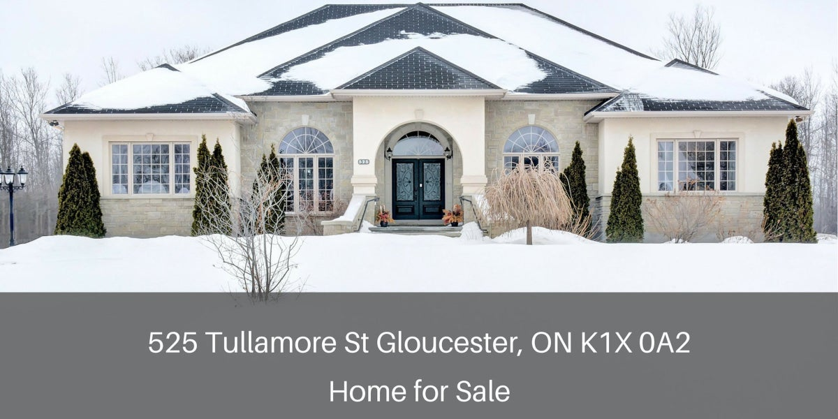 Gloucester ON Homes for Sale - Recently updated and immaculately presented, this Gloucester ON home for sale delivers the amazing view, quality construction, and exceptional finishes you've been looking for