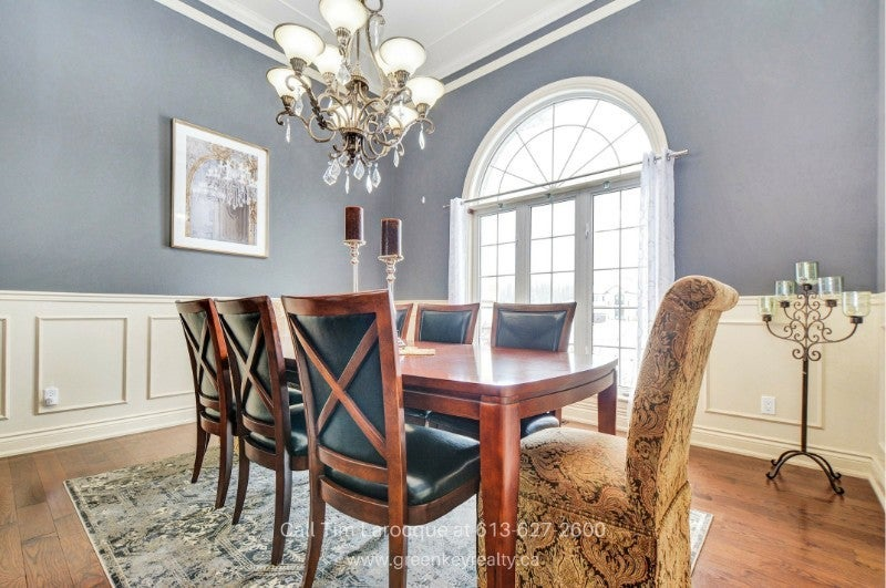 Homes for Sale in Gloucester ON - Bright and spacious, the formal dining room of this home in Gloucester is ready for you anytime.