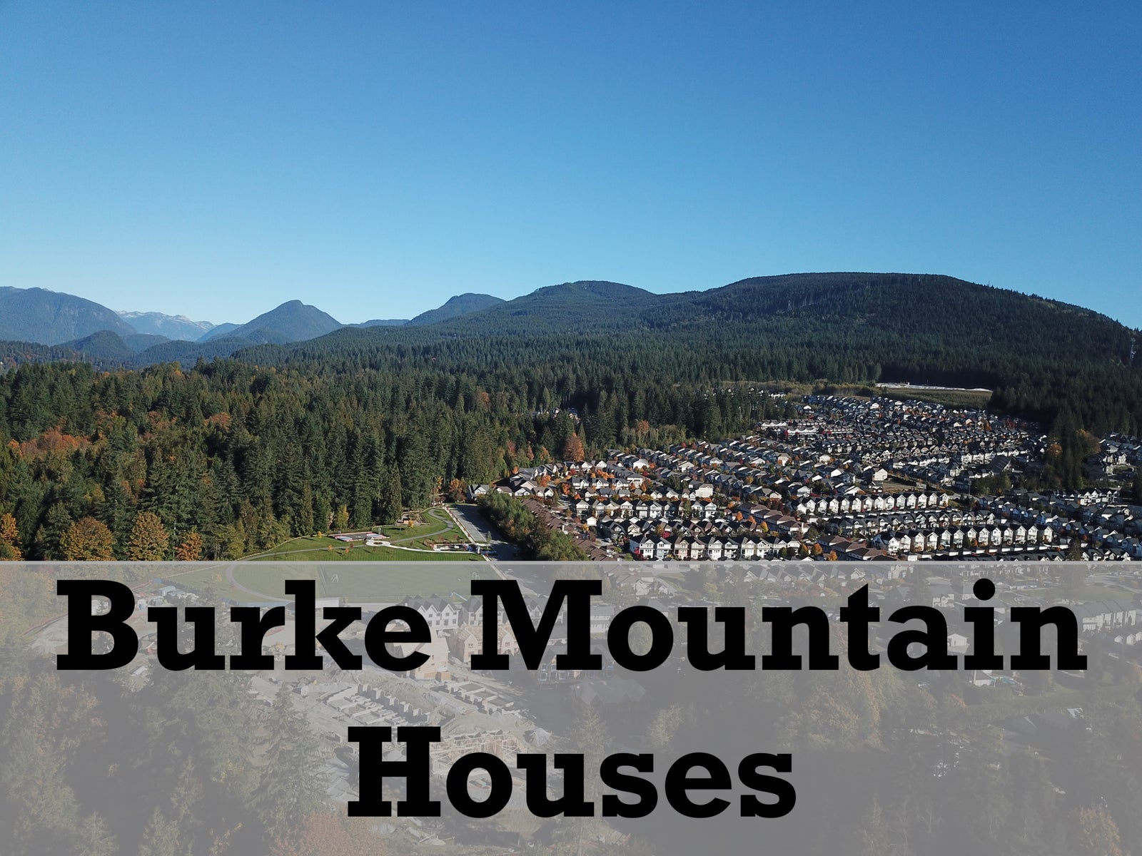 Burke Mountain Houses for sale