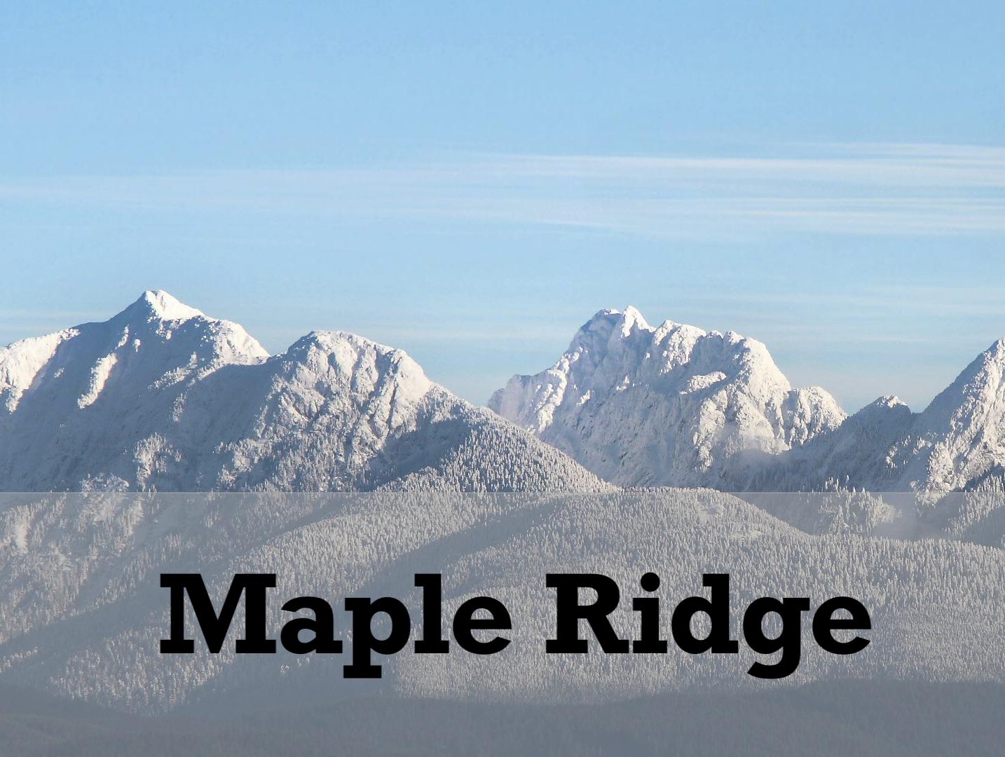 Maple Ridge homes for sale