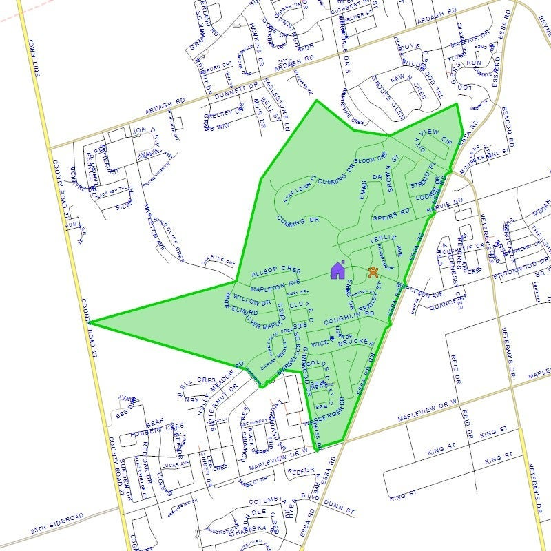 Holly Meadows Elementary School - School District