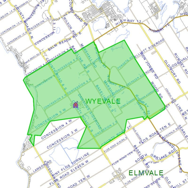Wyevale Central Public School - School District
