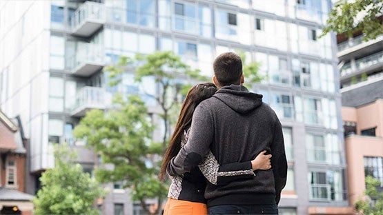 Young First-Time Buyer Couple In New Westminster