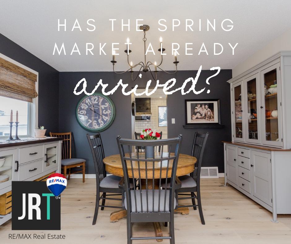 Jason Rustand Team Real Estate - spring market