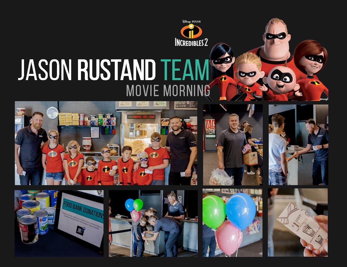 Jason Rustand Team movie morning