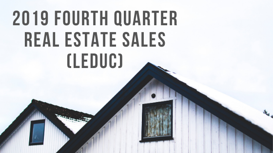 Real Estate Leduc Stats