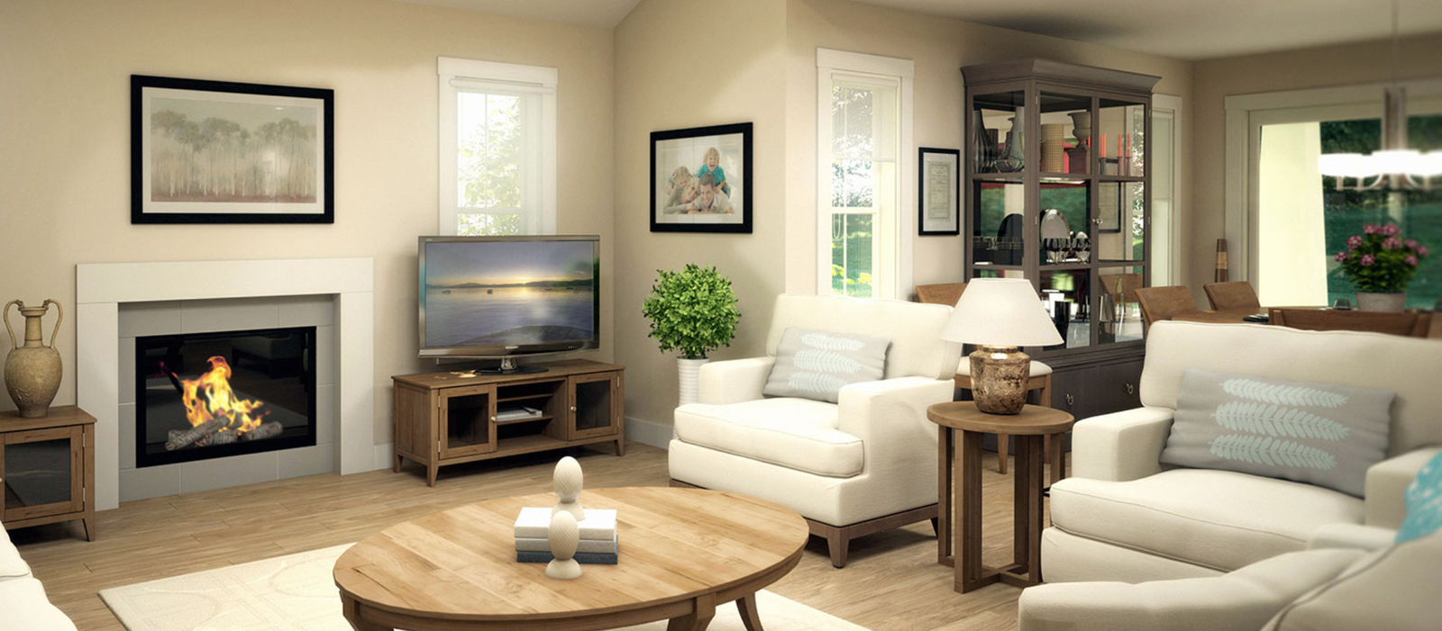 Silver Stone Heights colour package option 3 living room