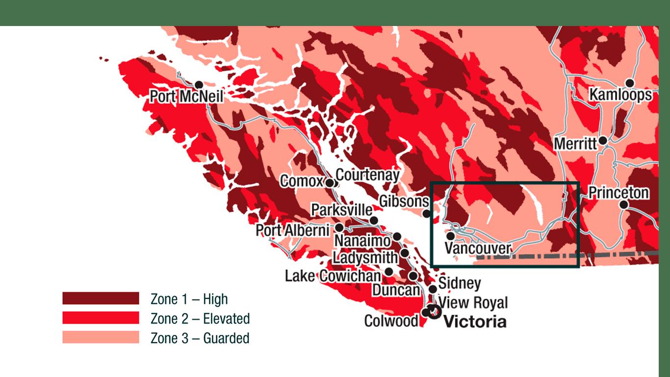 Radon Map Bc Canada Radon Gas in Victoria BC Homes?   Andrew Plank