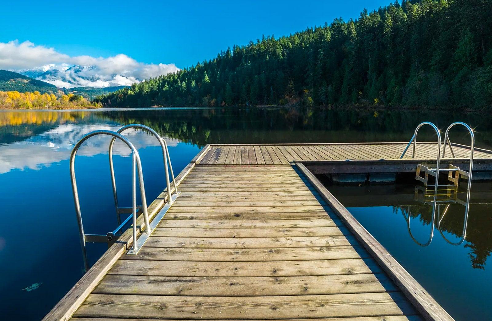 Alta Lake in Pemberton BC