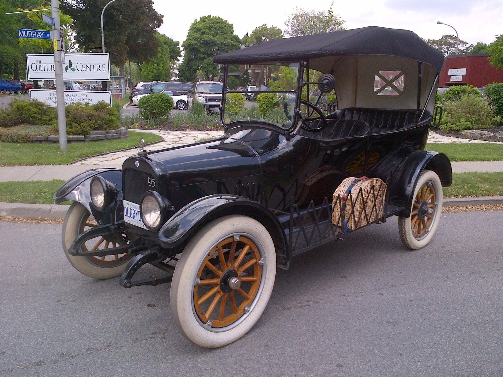 Gray Dort Classic Automobile