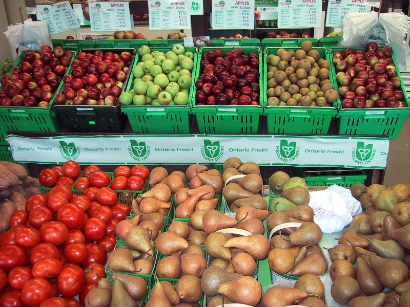 Local Fruits and Vegetable