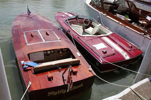 Antique Boats at Wambo