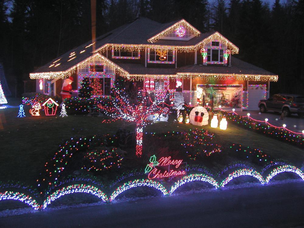 Exterior Home Decorating for Christmas