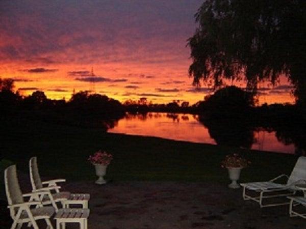 Thames River Sunset