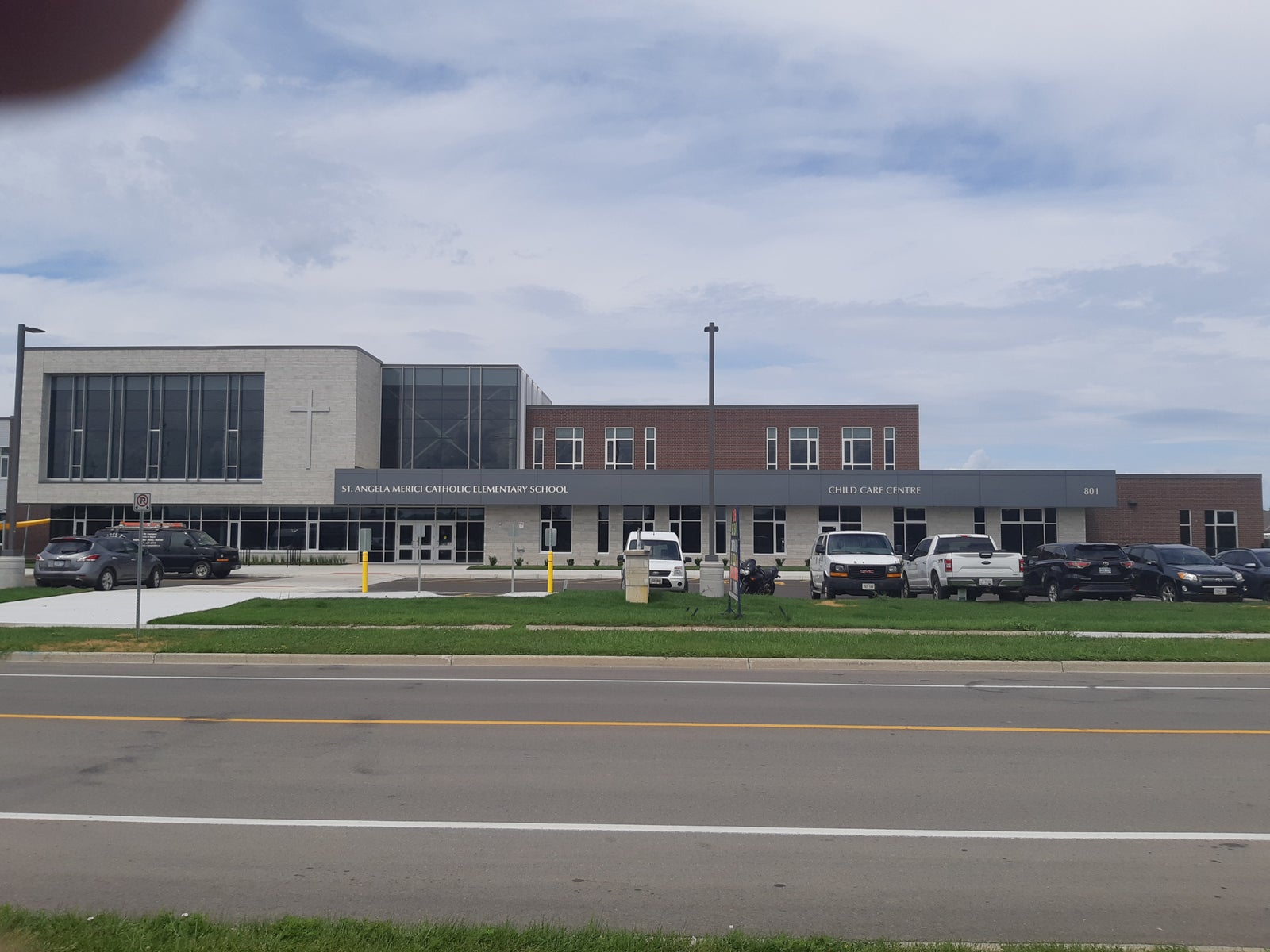 St. Am]ngela Mericic School