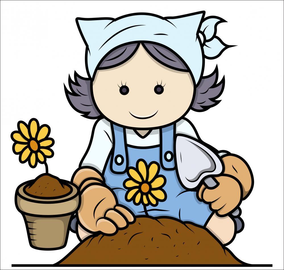 Gardening Clip