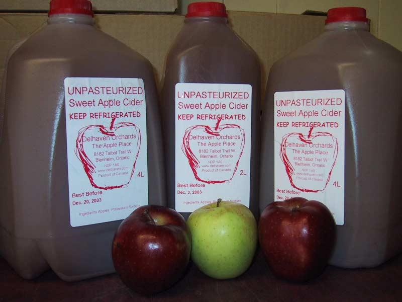 Bottled Apple Cider