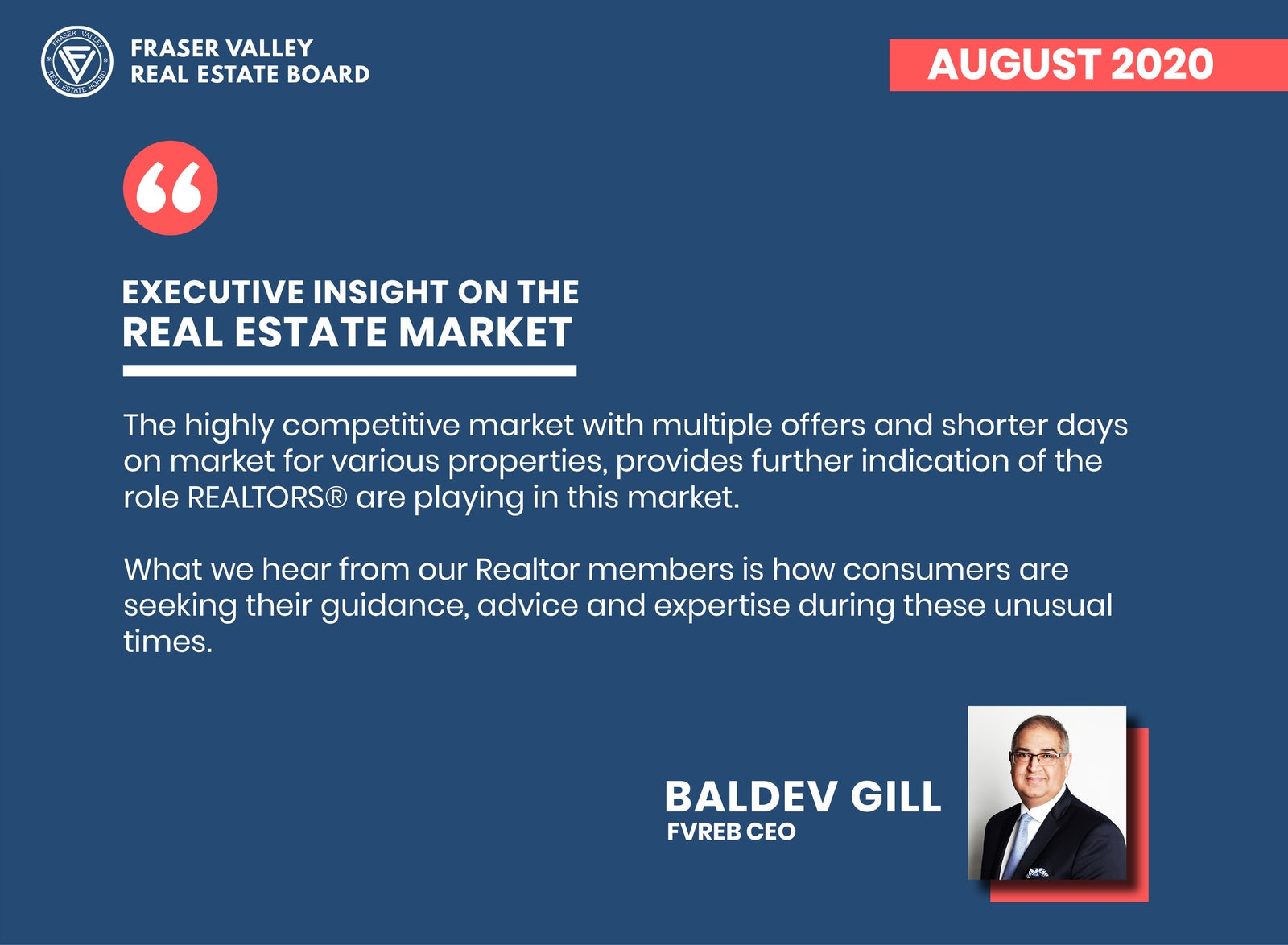 FVREB Real Estate Market Insights August 2020