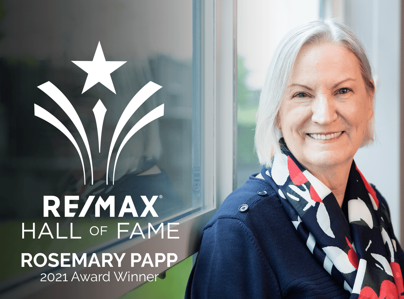 2021 Hall of Fame Award Winner - Rosemary Papp