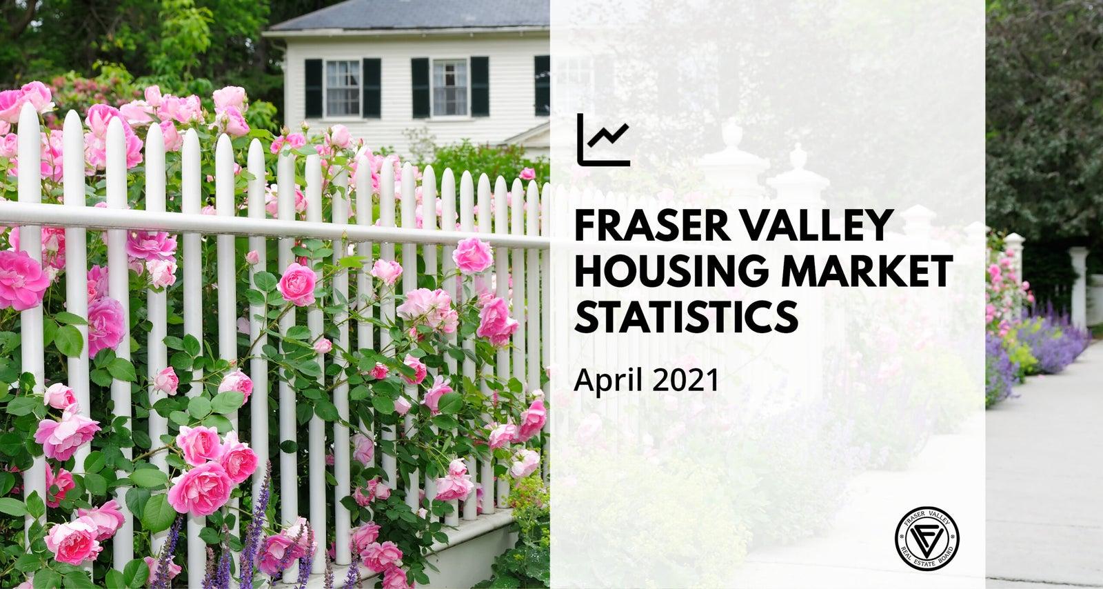 Fraser Valley Real Estate Board - Housing Market April 2021