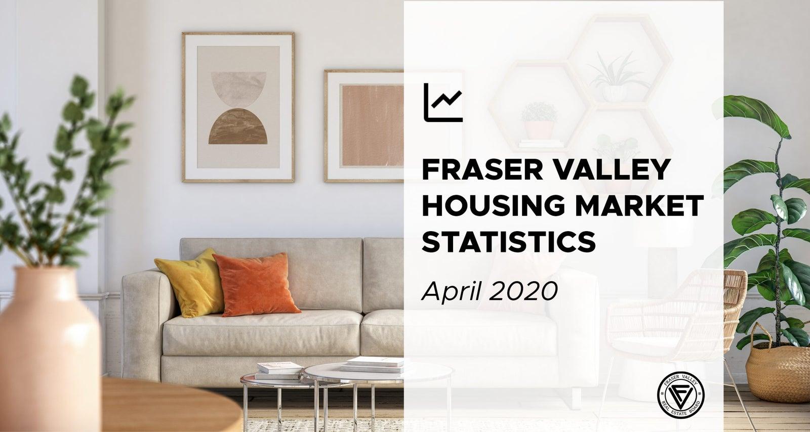 Fraser Valley real estate market report for April 2020