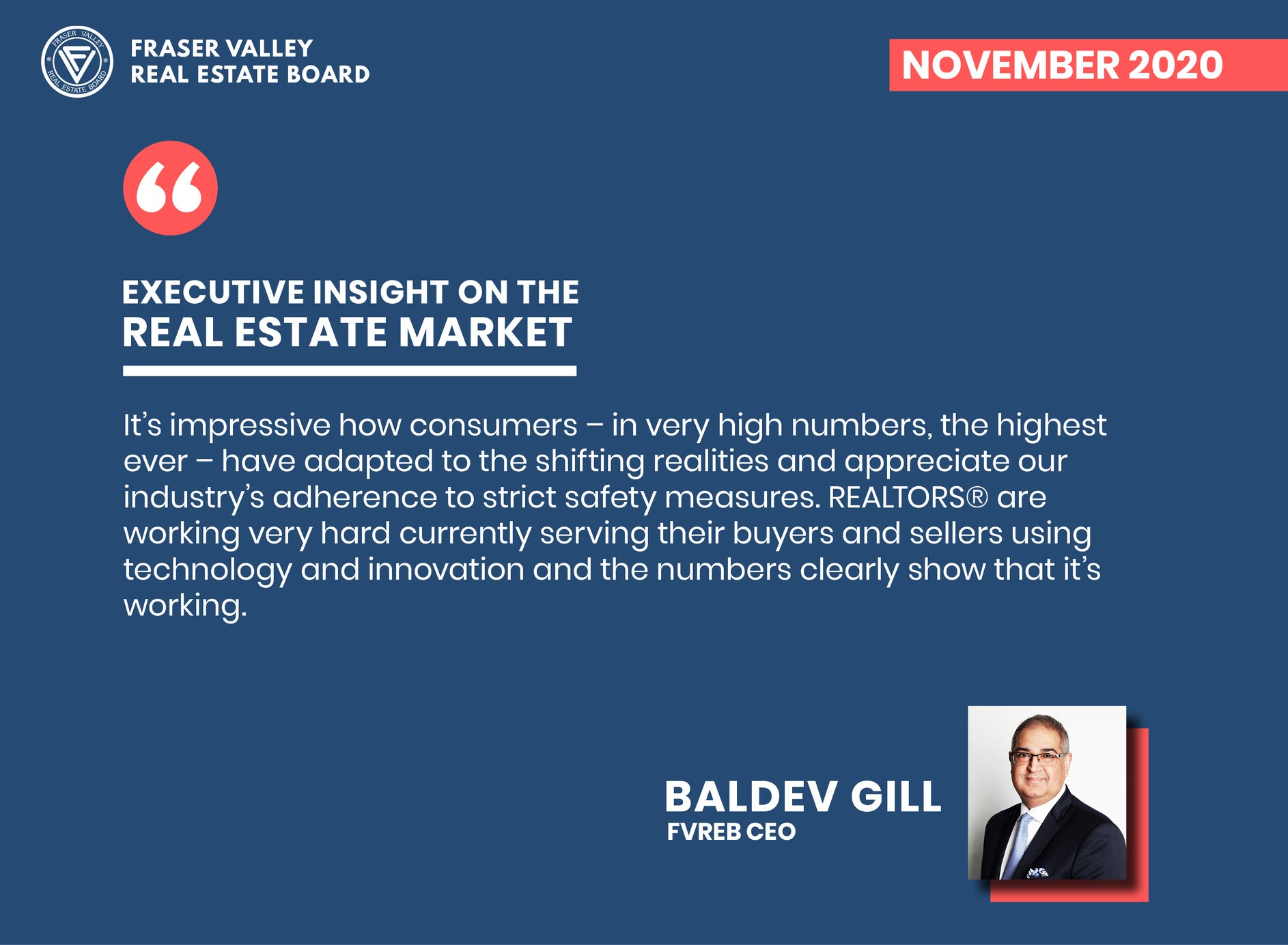 Fraser Valley Real Estate Market Report November 2020 – Executive Report